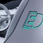 detalle del Smart Forspeed como prototipo de coche eléctrico