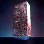 2g de Aerogel soportando 2,5kg de una piedra
