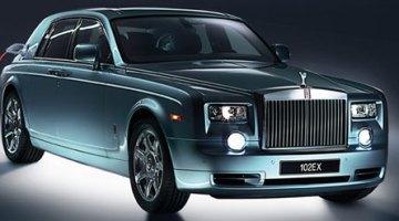 Rolls-Royce 102EX, prototipo de limusina eléctrica