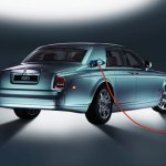 imágen trasera del Rolls-Royce 102EX