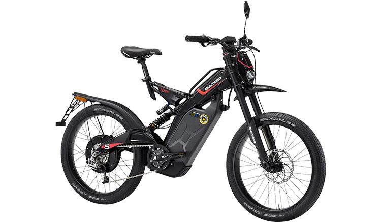 Imagen donde podemos ver los accesorios y el diseño de la Bultaco Brinco S.