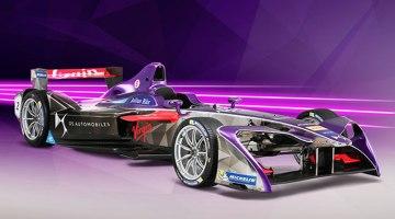 Virgin Racing presenta nuevo monoplaza de Formula E para 2017