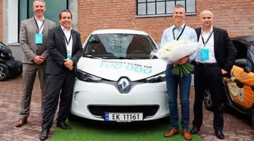 Renault rompe la barrera de los 100.000 coches eléctricos vendidos