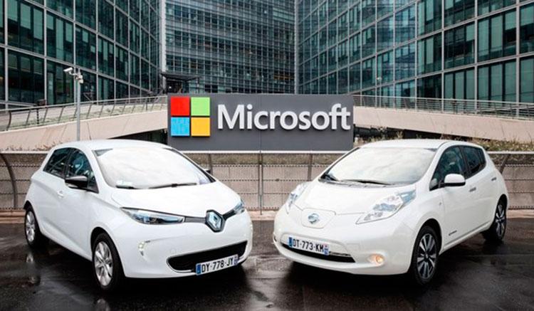 Renault Nissan usarán nube Microsoft