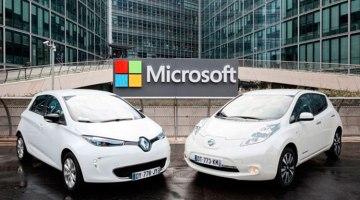 Renault y Nissan usarán la nube de Microsoft para la conectividad de sus coches