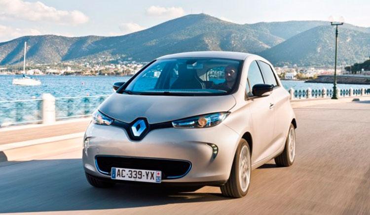Renault Zoe 350 km autonomía