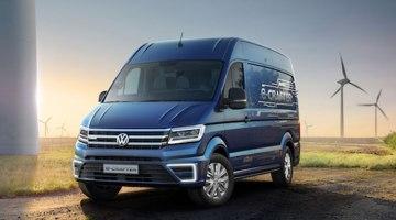 Volkswagen prepara una Crafter eléctrica para 2017