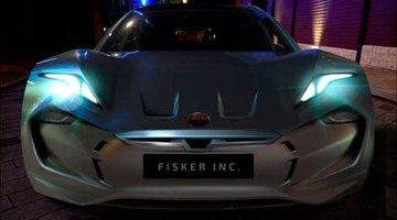 Fisker coche eléctrico con baterías de grafeno