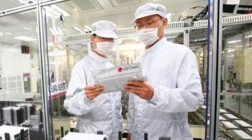 LG empieza a construir su fábrica de baterías para vehículos eléctricos en Europa