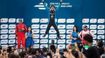 Buemi conquista el podio de Hong Kong en la primera prueba de la temporada