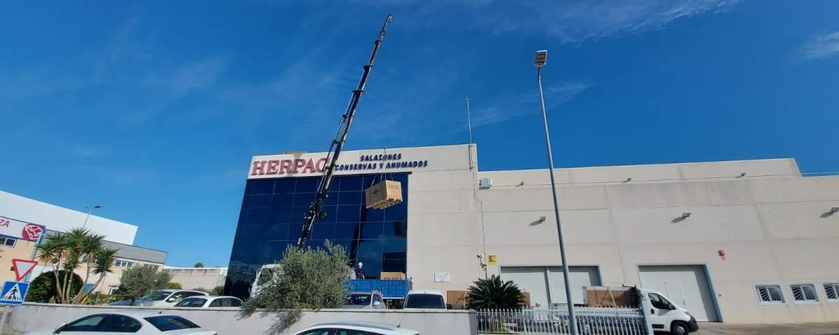 Instalación solar Herpac