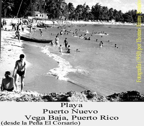 051-0 Playa Vega Baja  1950