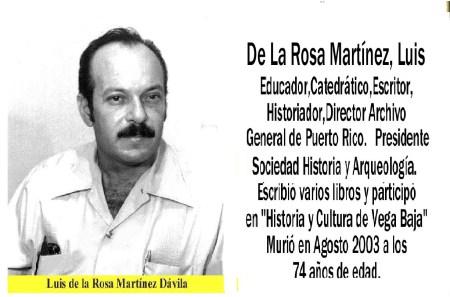 LUIS DE LA ROSA MARTINEZ
