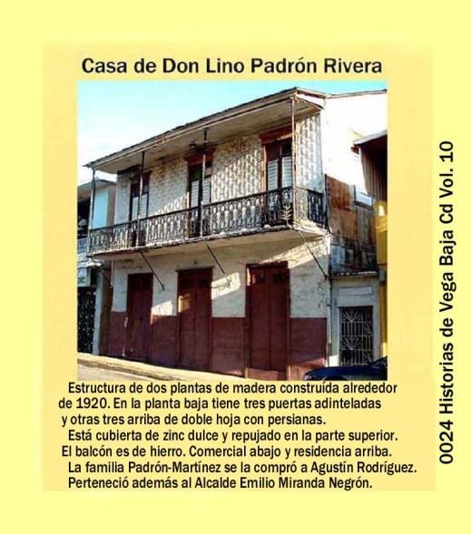 Lino Padrón Rivera 0024 Fotografía Antigua Casa Padrón Martínez 1920