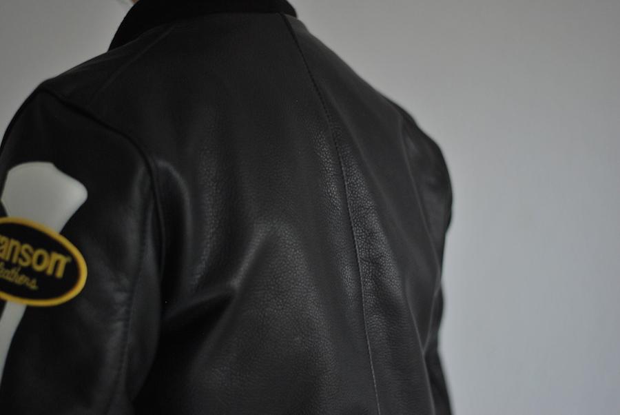 スタイリング エンシニータス別注 vanson TJ Team Jacket