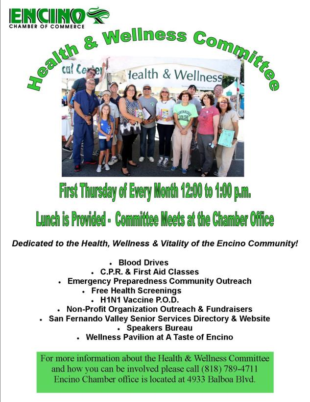 Updated Wellness Flyer - July 2013