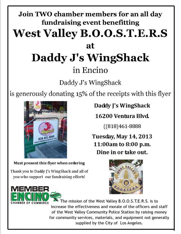 West Valley B.O.O.S.T.E.R.S.