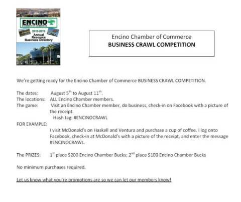Business Crawl Competition