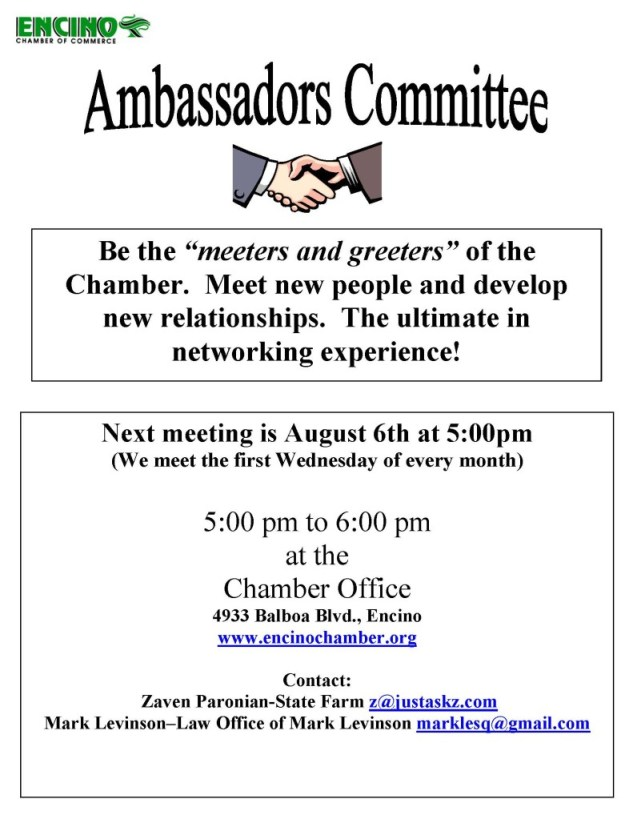 Ambassadors Committee flyer 8-6-14