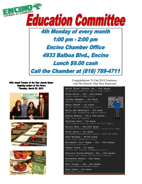 education committee flyer 8-15-2014