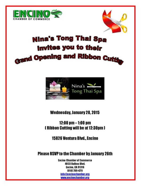 Nina's Tong Thai Spa
