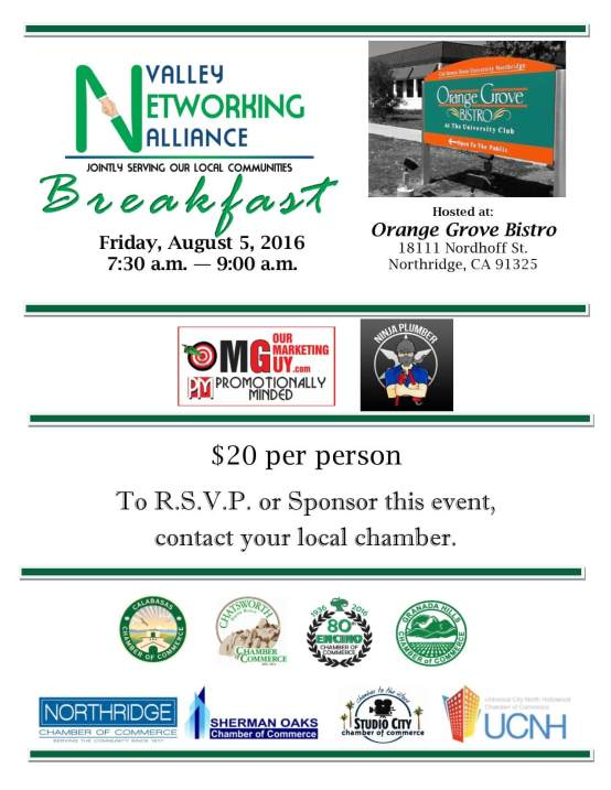 VNA Breakfast - August 5
