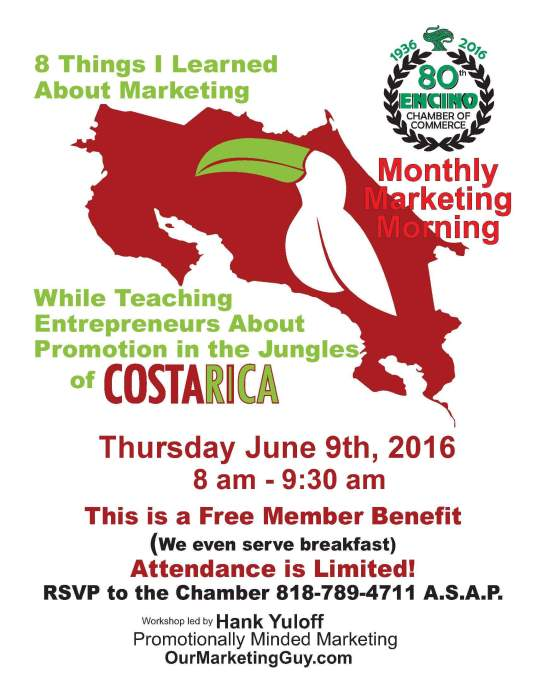 Monthly Marketing Morning 6-9-16 flyer