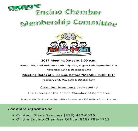 Membership Committee Flyer-updated 1-2017