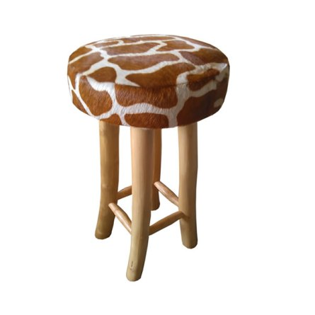 Bar Stool Giraffe motif