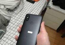 Xiaomi Mi 6X imagen parte trasera