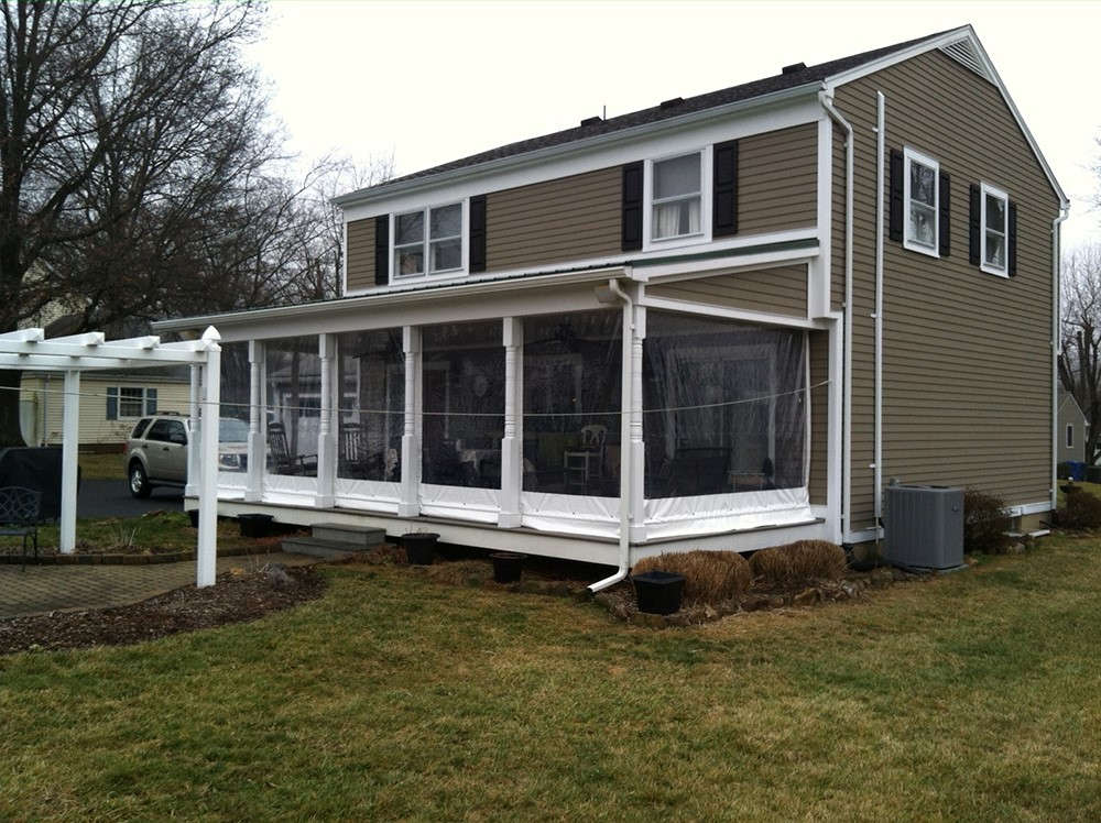 New Haven, CT - Patio Curtains, Outdoor Clear Plastic ... on Outdoor Patio Enclosures  id=23550