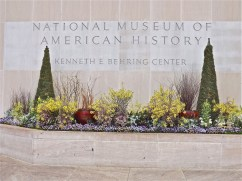 The south entrance to the National Museum of American History.
