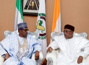 Image result for Buhari urges ECOWAS leaders to be cautious on single currency