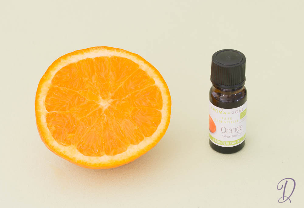 huile essentielle d'orane