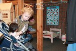 dramatic play baby care