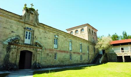 Mosteiro das Bernardas en Ferreira de Pantón. (Arquivo EC).