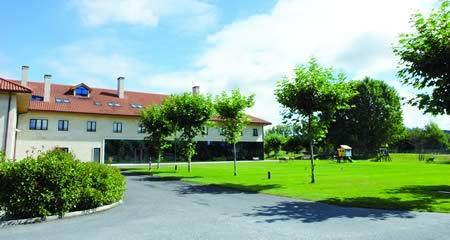 O Balneario de Augas Santas, en Pantón, participou nas tres primeiras edicións do programa provincial Termalismo no Camiño. Arquivo EC.