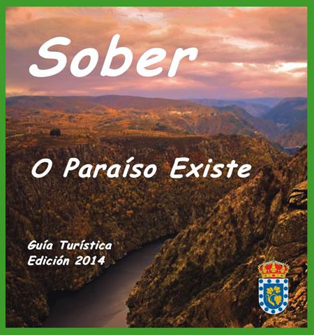 Imaxe da portada da nova edición da Guía Turística de Sober, editada polo Concello.(Foto cedida).