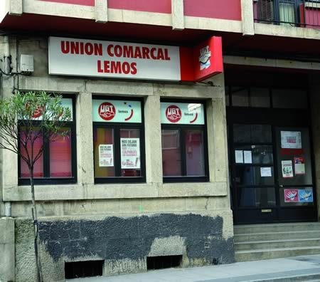 O sindicato UGT-Lemos denunciou que o 93,68% dos contratos asinados en setembro son temporais.Arquivo EC.