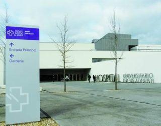 Hospital Universitario Lucus Augusti (HULA).  Arquivo EC