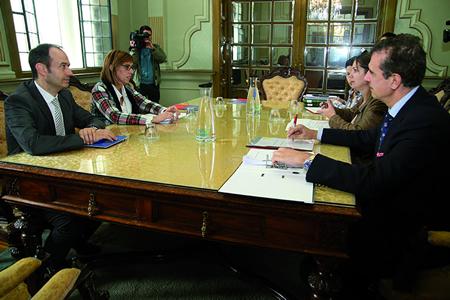 Reunión da Comisión de Seguimento do convenio de colaboración entre Deputación de Lugo e Xunta de Galicia para a rehabilitación e posta en valor das Pallozas do Piornedo, o 19 e novembro en Lugo. GPDL
