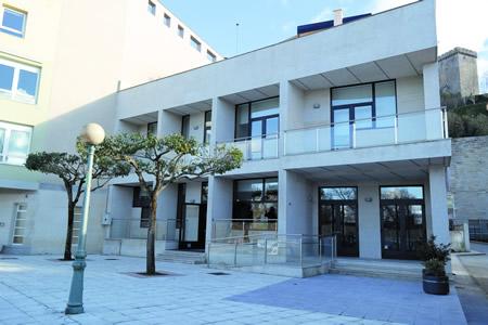 Aspecto do novo Centro Cívico Social de Monforte, situado no Malecón. EC.