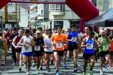 As carreiras populares do Circuíto Ribeira Sacra están a reunir un importante número de participantes, ano tras ano. Arquivo EC.