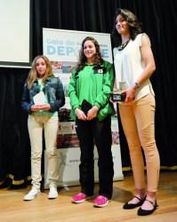 A atleta Saleta Fernández foi declarada Mellor Deportista do ano 2014, e foron finalistas a taekwondista Jasmín Rodríguez, e a nadadora Sandra Suñer. EC