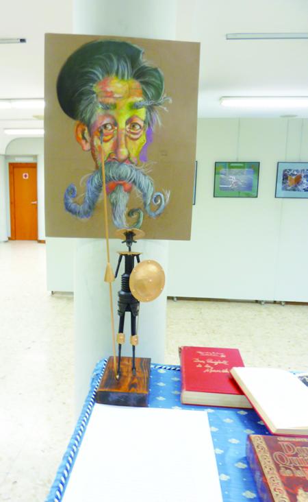 Diversos actos para escolares e público en xeral celebran este evento cultural en Monforte en torno á obra de Cervantes.  GPCM.
