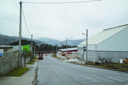 Dúas das trece parcelas que a Xunta adxudicou este mes en superficies industriais de Lugo atópanse no polígono de Quiroga. Arquivo EC.