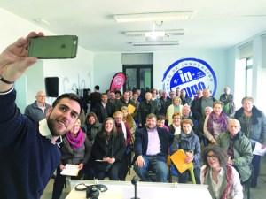 Presentación dos cursos do InLugo para o segundo trimestre, nunha das aulas do Centro de Innovación Tecnolóxica InLugo, na que participou o patrón da Fundación TIC, Álvaro Santos. GPDL.