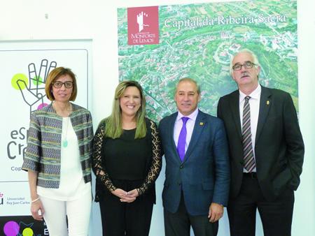 A presentación do Fórum de Cidades Creativas tivo lugar en Monforte o pasado 17 de xuño. GPCM.