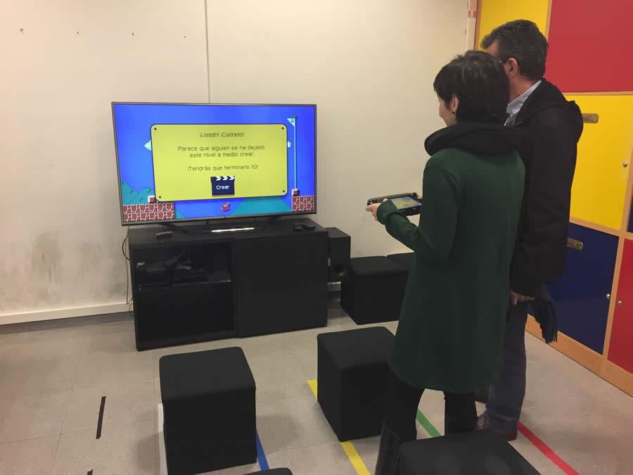 A aula multimedia de Sober ofrecerá proxeccións de cine e uso de materiais interactivos. (Foto cedida).
