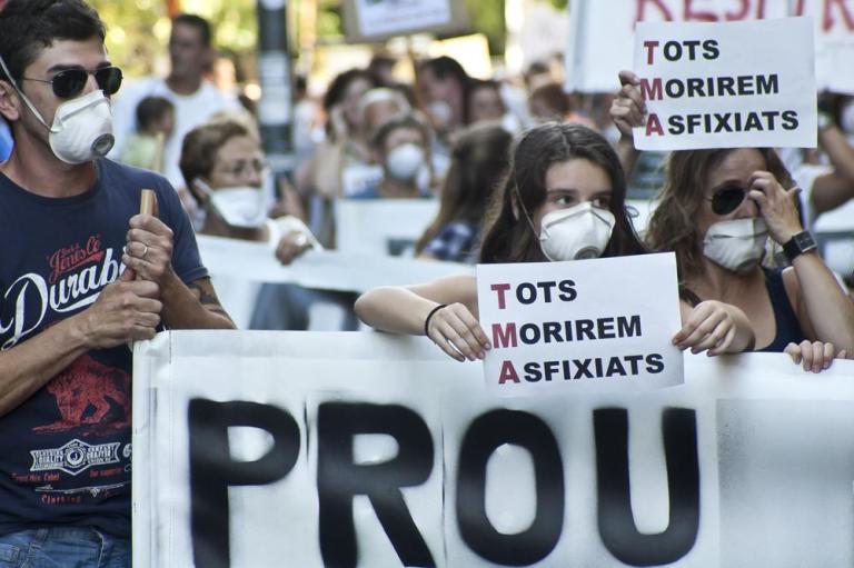 Rubí sense abocadors prepara una gran manifestació per frenar Can Balasc
